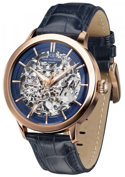 Zegarek Carl von Zeyten CVZ0013RBL - duże 1