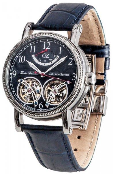 Zegarek Carl von Zeyten CVZ0033BL - duże 1