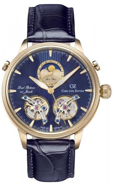 Zegarek Carl von Zeyten CVZ0060GBL - duże 1