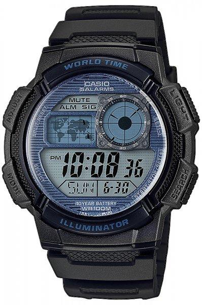 Zegarek męski Casio sportowe AE-1000W-2A2VEF - duże 1