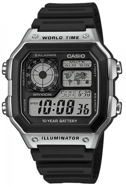 Zegarek Casio AE-1200WH-1CVEF - duże 1