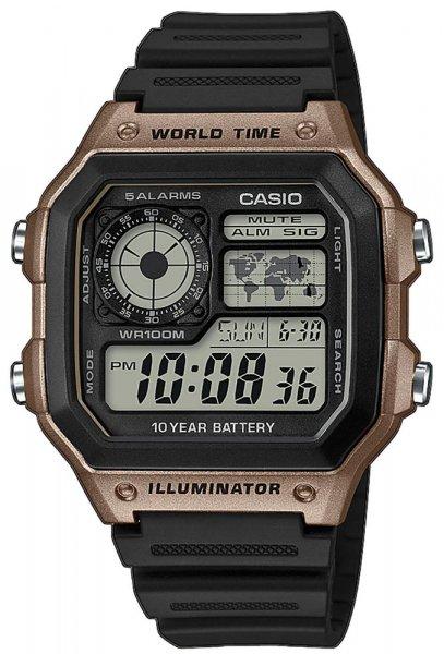 Zegarek Casio AE-1200WH-5AVEF - duże 1