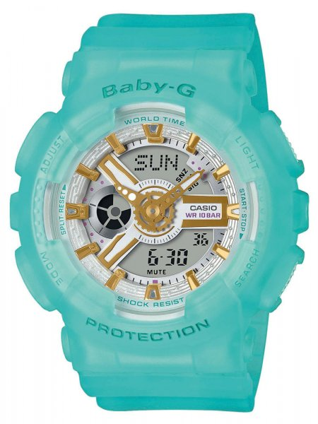 Zegarek damski Casio Baby-G baby-g BA-110SC-2AER - duże 3