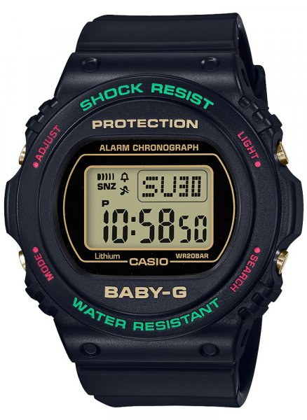 Baby-G BGD-570TH-1DR Baby-G THROWBACK 1990S
