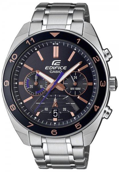 Zegarek Casio EDIFICE EFV-590D-1AVUEF - duże 1