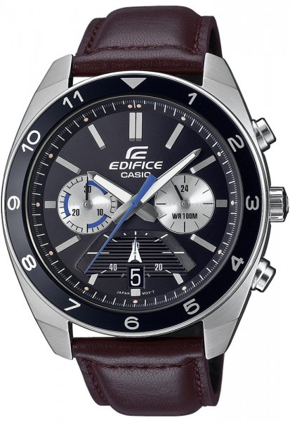 Zegarek męski Casio EDIFICE edifice EFV-590L-1AVUEF - duże 3