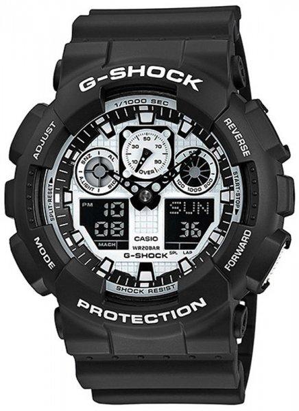 Zegarek Casio G-SHOCK GA-100BWVCF-1AER - duże 1