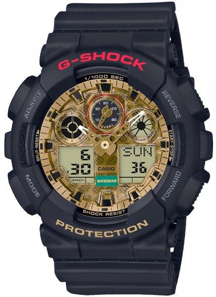 G-Shock GA-100TMN-1ADR G-SHOCK Original JAPANESE GOOD LUCK CHARM MANEKI NEKO LIMITED EDITION