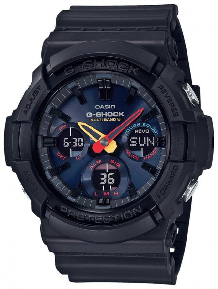 Zegarek męski Casio G-SHOCK g-shock original GAW-100BMC-1AER - duże 3