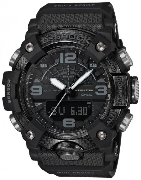 G-Shock GG-B100-1BER G-SHOCK Master of G Mudmaster Carbon Core Black Out