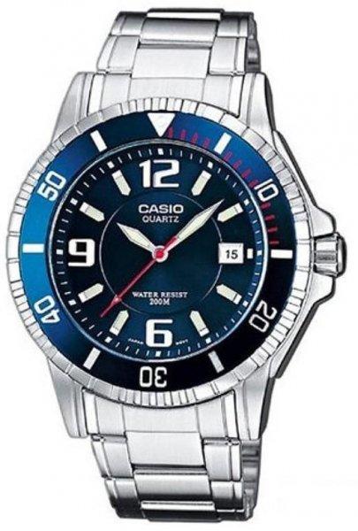 Zegarek Casio  MTD-1053D-2AVEF - duże 1