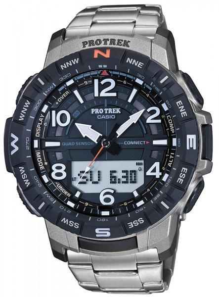 Zegarek męski Casio ProTrek protrek PRT-B50T-7ER - duże 1