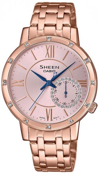 SHE-3046PG-4AUER - zegarek damski - duże 3