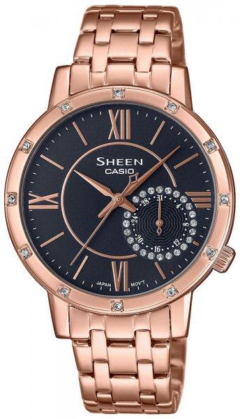 SHE-3046PG-8AUER - zegarek damski - duże 3