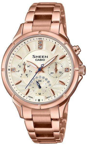Zegarek damski Casio SHEEN sheen SHE-3047PG-9AUER - duże 1