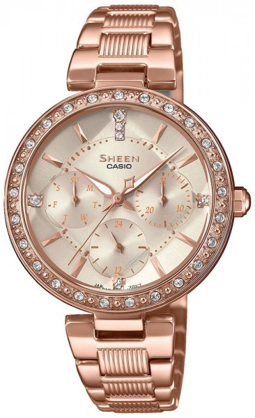 SHE-3068PG-4AUER - zegarek damski - duże 3