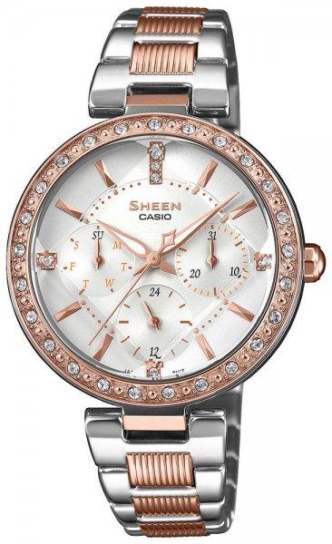 SHE-3068SPG-7AUER - zegarek damski - duże 3