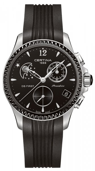 Certina C030.250.17.056.00 DS First Lady DS First Lady Chronograph Moon Phase
