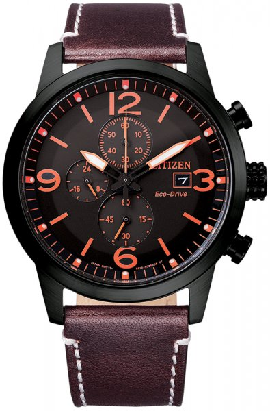 Zegarek męski Citizen ecodrive CA0745-11E - duże 1