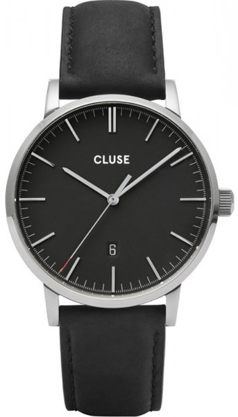 Cluse CW0101501001 Aravis Aravis leather silver black/black