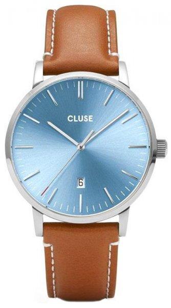 Cluse CW0101501005 Aravis Aravis leather silver blue/light brown