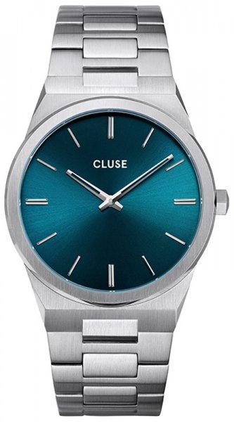 Cluse CW0101503003 Vigoureux Silver Petrol Blue
