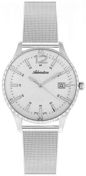 Zegarek damski Adriatica bransoleta A3699.5153Q - duże 3
