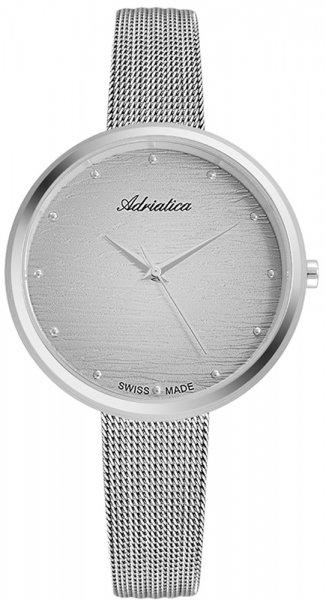 Zegarek damski Adriatica bransoleta A3716.5147Q - duże 1