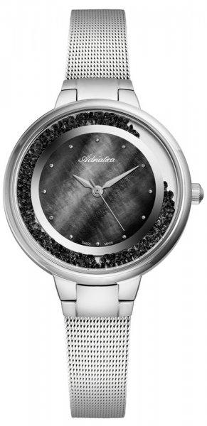Zegarek damski Adriatica bransoleta A3720.514MQZ - duże 3