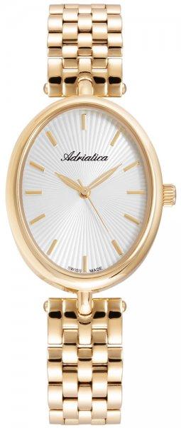 Zegarek damski Adriatica bransoleta A3747.1113Q - duże 1