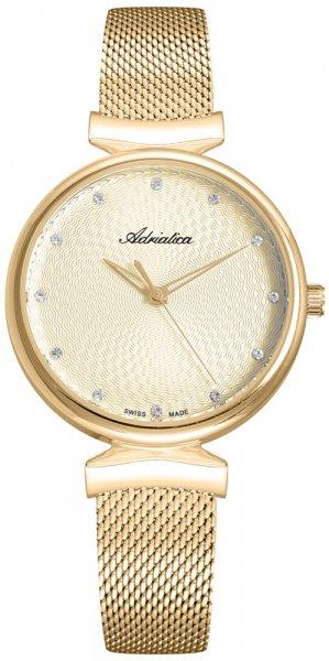 Zegarek damski Adriatica bransoleta A3748.1141Q - duże 1