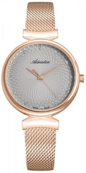 Zegarek damski Adriatica bransoleta A3748.9147Q - duże 1