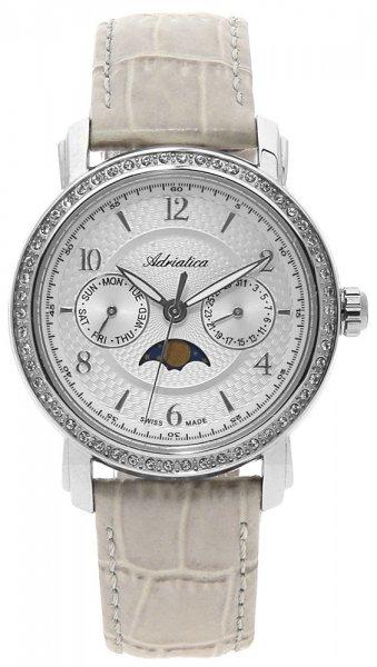 Zegarek Adriatica Moonphase - damski - duże 3