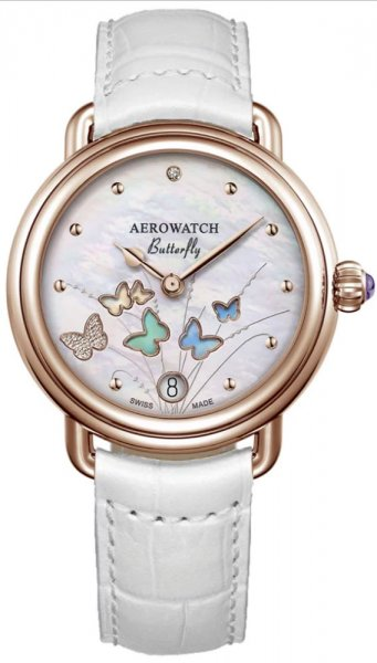 Aerowatch 44960-RO05 1942 1942 BUTTERFLY 44960 RO05 LIMITED EDITION