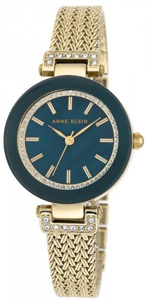 Zegarek damski Anne Klein bransoleta AK-1906NVGB - duże 3