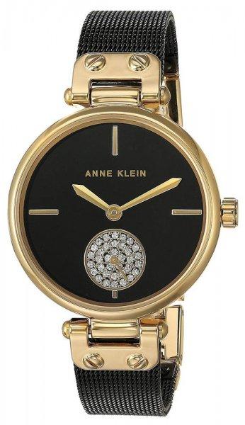Zegarek damski Anne Klein bransoleta AK-3001BKBK - duże 1
