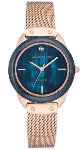 Zegarek damski Anne Klein bransoleta AK-3258NVRG - duże 1