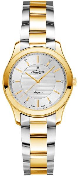 Zegarek damski Atlantic seapair 20335.43.21G - duże 1