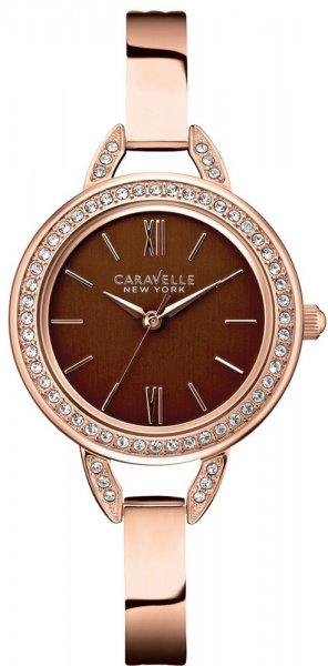 Zegarek Caravelle 44L134 - duże 1