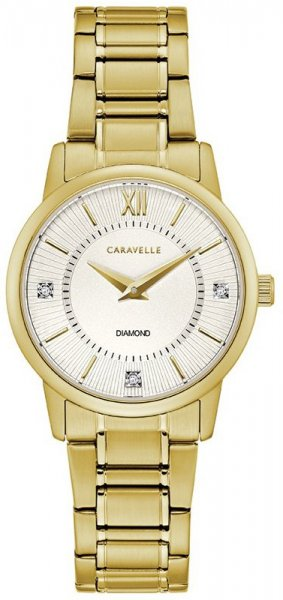 Zegarek Caravelle 44P102 - duże 1