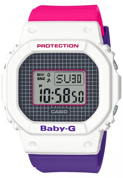 Baby-G BGD-560THB-7DR Baby-G BABY-G PURPLE-PINK THROWBACK 1990S SERIES