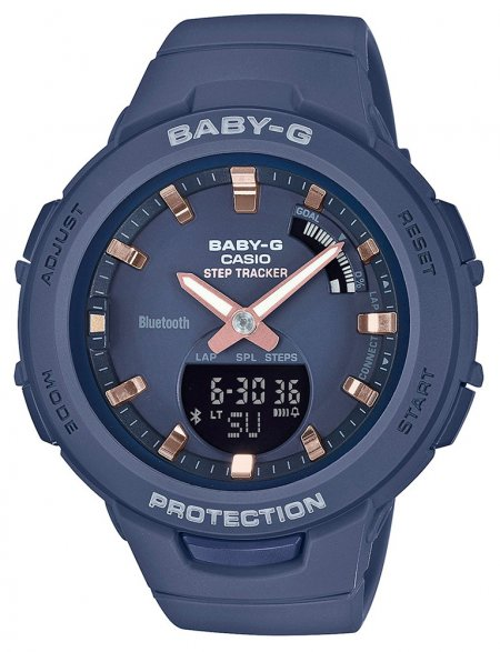 Zegarek Casio BSA-B100-2AER - duże 1