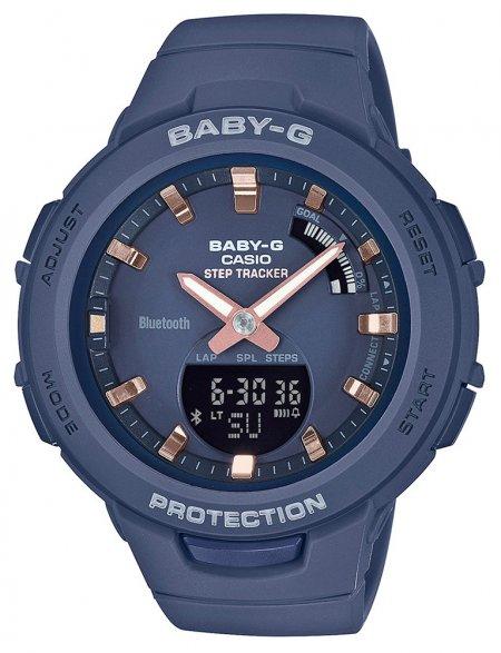 Zegarek Casio Baby-G BSA-B100-2AER - duże 1