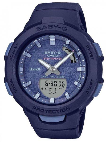 Zegarek Casio BSA-B100AC-2AER - duże 1