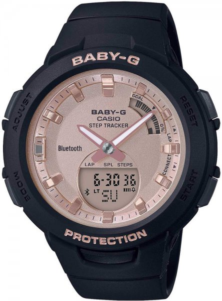 Zegarek Casio BSA-B100MF-1AER - duże 1