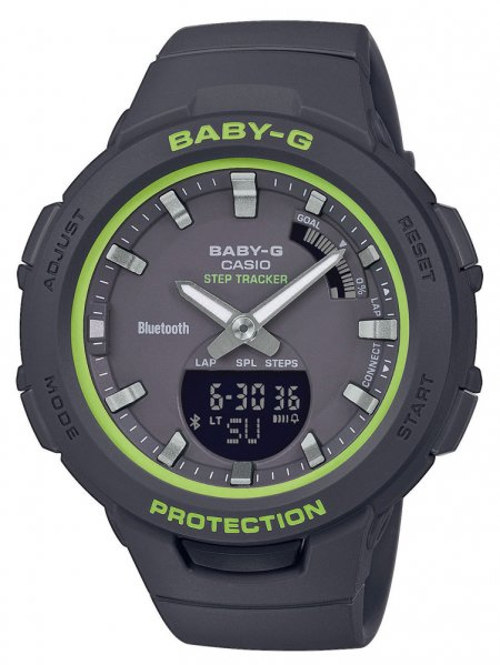 Zegarek Casio BSA-B100SC-1AER - duże 1