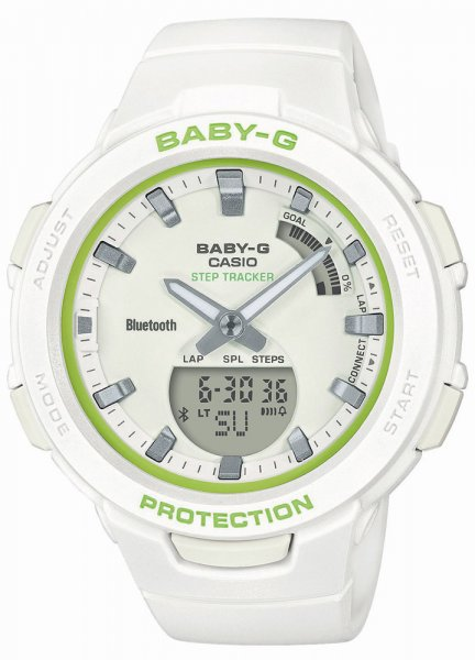 Zegarek Casio Baby-G BSA-B100SC-7AER - duże 1