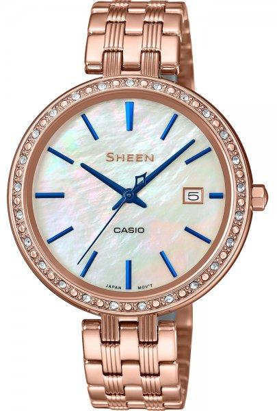 Zegarek damski Casio SHEEN sheen SHE-4052PG-2AUEF - duże 1