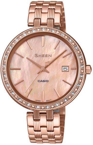 Zegarek Casio SHEEN SHE-4052PG-4AUEF - duże 1