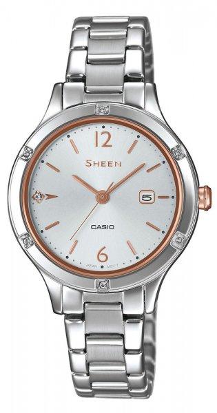 Zegarek Casio SHEEN SHE-4533D-7AUER - duże 1